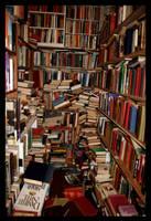 books. by idiosyncrasique