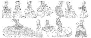 Marie Antoinette by PickledAlice