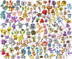 Pokemon Generation One by Hanogan