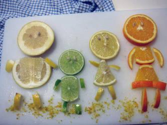 Citrus Family by SharinganChocobo