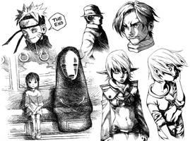 Sketches!! by gmoshiro