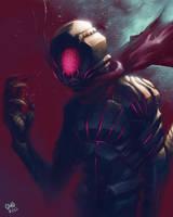 Kamen Rider dark by gmoshiro