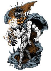 Nunoki God Warrior by gmoshiro