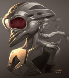 Speed Paint Masked Guy by gmoshiro