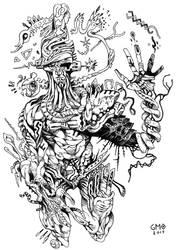 Psychedelic Human by gmoshiro