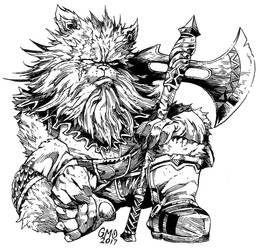 Cat Dwarf by gmoshiro