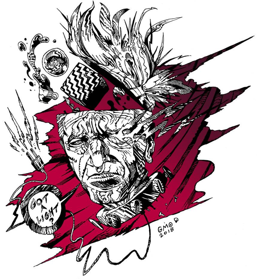David Lynch by gmoshiro