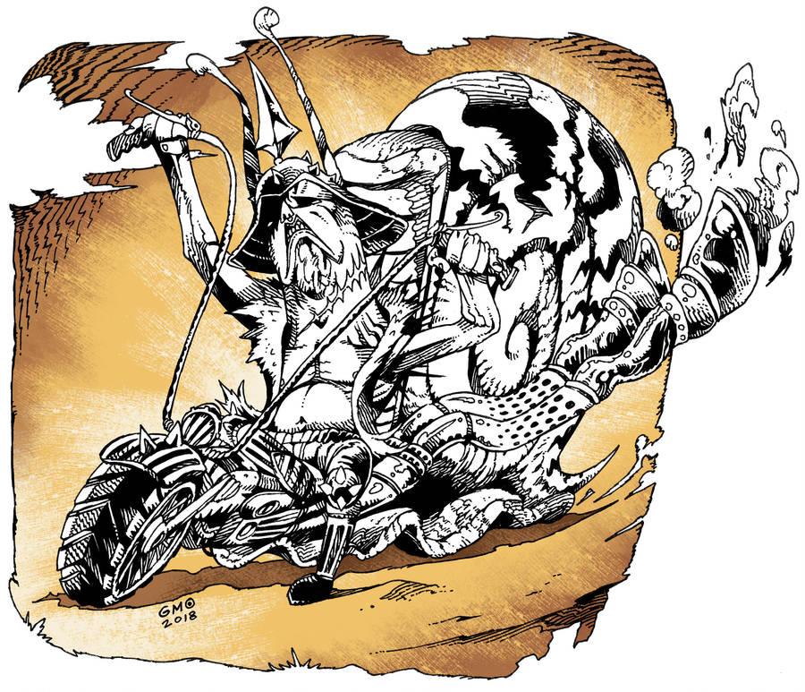Snail Biker by gmoshiro