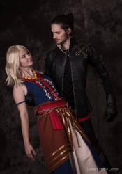Witcher Lambert and Keira Metz - Witcher 3 by MrFifiak