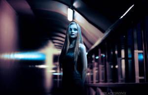 Blue hall by lblacksphynx