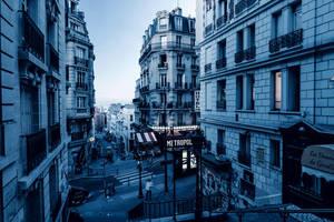Cyan city by lblacksphynx