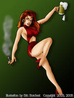 Bargirl by ericborc