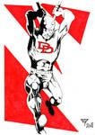 Daredevil Red by guillomcool