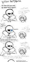 Frisk's bad joke by Y3llowHatMous3