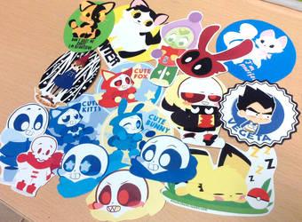 stickers by Elizabetharte