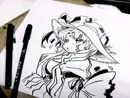 Sailor Moon by Elizabetharte