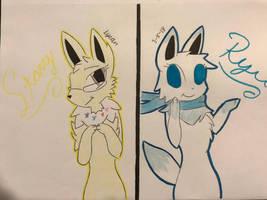 (G) Poke-Friends #1 by LeFloofyLyeon