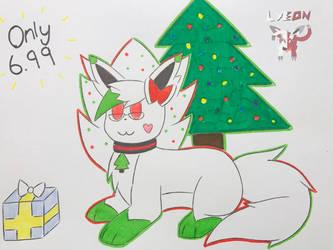 EXTRA Plush Christmas Lyeon by LeFloofyLyeon