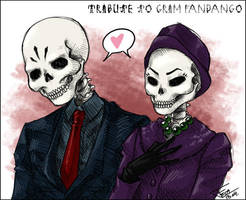 Tribute to Grim Fandango by Fiji-Fujii
