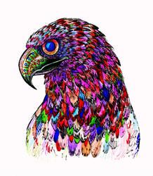 Eagle Head by ModNight