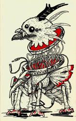 Spiderbird by ModNight