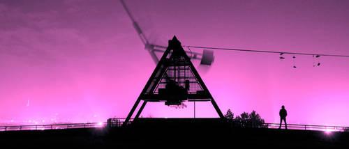 The pendulum silhouette by izmy