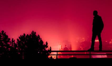 My silhouette by izmy
