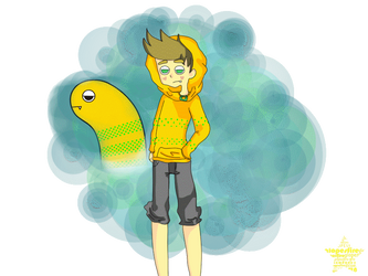 Gijinka Eel: Ryan by Glopesfire