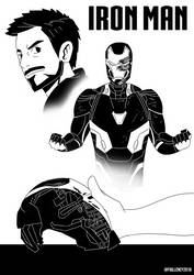 Iron Man (Tribute) by Fiqllency