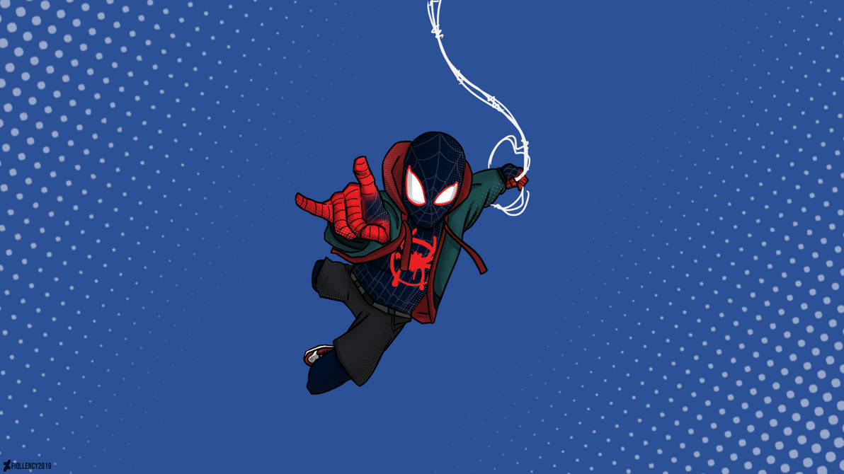 Spider Man Into The Spider Verse Miles Morales By Fiqllency On
