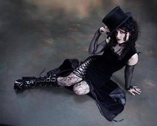 Velvet dress by Ventovir