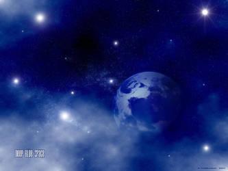 Deep Blue Space by LoN-Kamikaze
