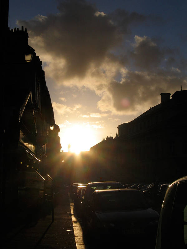 Caen, Evening by Silberius