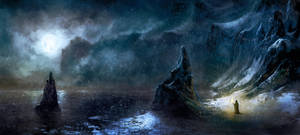 Iced coast by Silberius