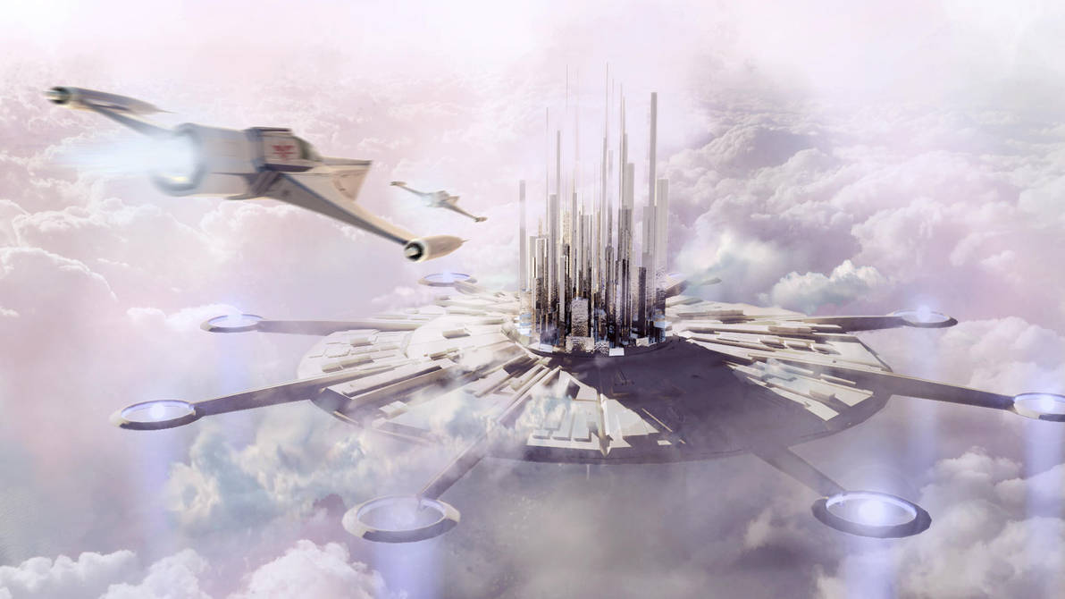 Floating city by Silberius