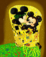 Disney and Klimt by GabiSaKuRa