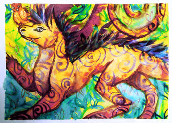 ACEO-Joy by atorife