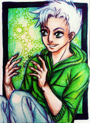 ACEO-Talking by atorife
