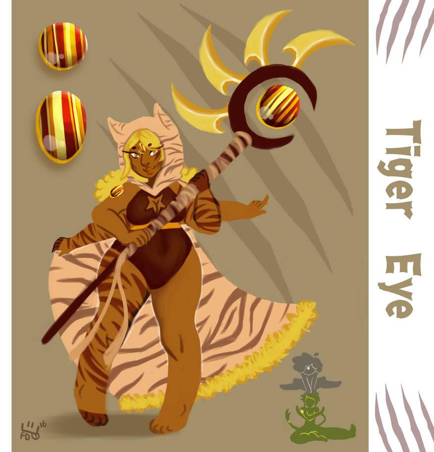 Gem Oc Tiger Eye Fusion By Chocokoppta On Deviantart