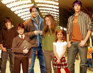 The Potter Family by DefyGravity18