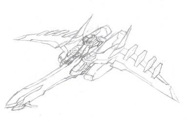 Gundam Battle Ship by knightShadowX