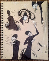 Jamie's Sketchbook by FoxDragonLover