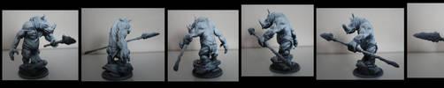 Hektor le Rhinotaure by DeadIrishMan