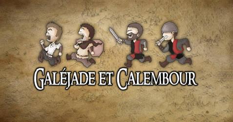 Galejade et Calembour La poursuite by DeadIrishMan