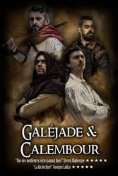 Galejade et Calembour  Poster by DeadIrishMan