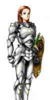Paladin--Colored by zoephoenix