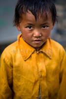 Tibetan children by mertxita