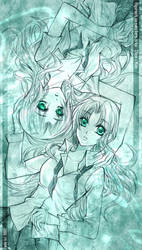 Twin : Higurashi by Lanzenritter