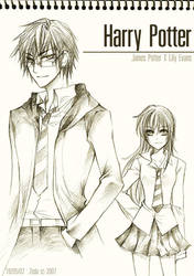 Duo : Harry Potter by Lanzenritter