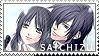 Saito x chizuru stamp by BloodSttar